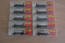More details for minitrix n517 haa mgr coal hopper 351540 with br bauxite cradle x10