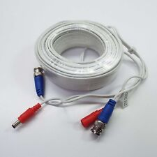Wh 4x 25ft Cat5E Power Video Extension Cable fit Zmodo Swann Qsee NVR Security