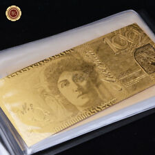 WR All Full Set of Australia Old New Banknote Album 24K Gold Foil Plated Collect