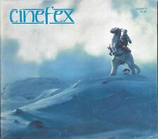 Cinefex #3 Star Wars The Empire Strikes Back RARE Behind the Scenes Pics