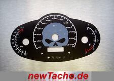 Harley Night Rod Special km/h gray SKULL Tachoscheibe VRSCDX Gauge Tacho dial