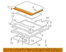 GM OEM Sunroof Sun Roof-Weatherstrip Seal 15893292