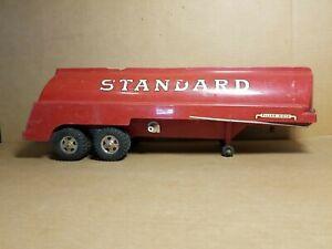 Vintage Tonka Standard Oil Red Tanker Trailer
