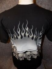 007bc4ac VINTAGE JNCO JEANS MEN'S XL 3D SKULLS GRAPHIC CREW NECK SHORT SLEEVE T SHIRT