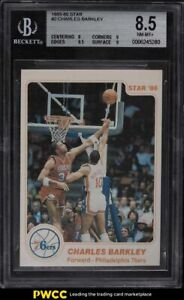 1985-86 Star Basketball Charles Barkley ROOKIE RC #2 BGS 8.5 NM-MT+
