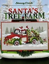 Santa's Tree Farm LFT451 by Stoney Creek cross stitch pattern