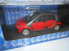 KYO09105R by KYOSHO SMART FORFOUR RED 1:18