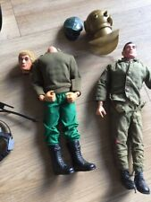 2 x Action Men Figures with Accessories