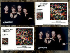 JOYWAVE Content 2017 Ltd Ed RARE New Postcards Lot +FREE Indie Rock Pop Stickers