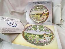 Vintage Germany Villeroy & Boch Collector Plate Edition Motiv Fruhling MIB