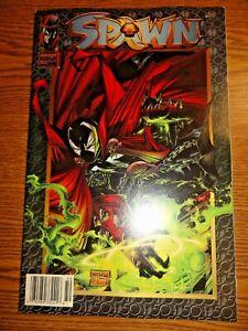 Spawn #50 Rare 1:100 Newsstand UPC Key Violator 1st Print Todd McFarlane Image