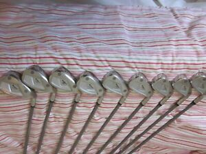YONEX V-MASS 400 IRONS (3-SW) 9 GRAPHITE REGULAR SHAFTS
