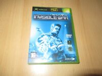 XBOX GAME DEUSE EX INVISABLE WARS new sealed pal