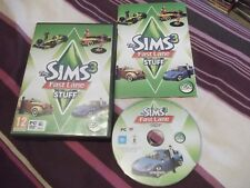 Sims 3 Fast Lane Stuff Expansion PC DVD-V.G.C. FAST POST complet