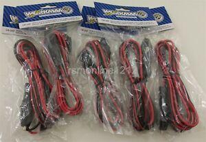 Lot of 5 Workman CB-3AP 3Pin CB/HAM Radio Replacement Power Cord w/ Lighter Plug