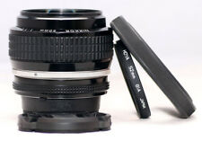 Near MINT Nikon Ai-s NIKKOR 50mm F/1.2 Manual Prime Portrait Lens. SN: 279932