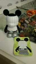 """DISNEY Vinylmation Park 3"""" Series 1 Occupations with Card Chef Cook"""