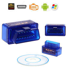 Mini ELM327 V2.1 Bluetooth Wireless OBD2 OBDII Car Auto Diagnostic Scanner Tool