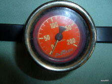 Vintage AMF VOIT Depth Gauge Scuba Diving 200 Feet West Germany