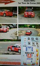 Decals 1/18 réf 620 Citroën Xsara Wrc Tour de Corse 2001