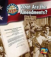What Are the Amendments? (First Guide to Government)-ExLibrary