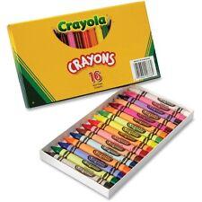 Crayola Large Crayons, 16 Colors/Box