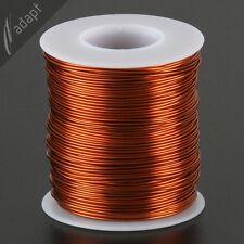 Magnet Wire, Enameled Copper, Natural, 19 AWG (gauge), 200C, 1 lb, 250ft