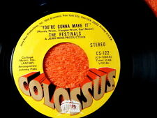 FESTIVALS~SO IN LOVE~NEAR MINT~COLOSSUM~YOU'RE GONNA MAKE IT~~NORTHERN SOUL 45