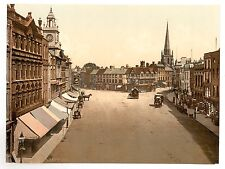 5 Victorian Pictures Hereford Cathedral Wye bridge High Street Old Photo Poster