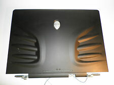 Alienware Area-51 M9750 M9700i-R1 LCD Cover w/ Logo and hinges