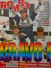 Auto & Sport ROMBO 44 1997 Jacques Villeneuve campione del Mondo