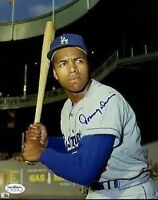 Tommy Davis Dodgers Signed Jsa Cert Sticker 8x10 Photo Autograph Authentic