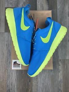 Nike Roshe Run 'Neon Blue' 511882-400 Size 12W (10.5M)