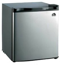 Igloo Stainless Steel 1.6 Cubic Feet Compact Dorm Room Freezer Mini Refrigerator