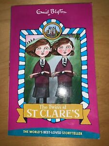 The Twins at St Clare's by Enid Blyton (2017 reprint of the classic story)