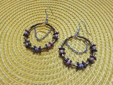 "From ""Safe Passage"" Guatemala City B Central America Jewelry Paper Bead Earrings"