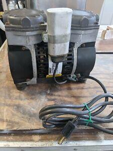 GAST Vacum Pump For All Porcelain Ovens Used Dental Lab Equipment