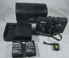 Nikon Coolpix A Digital Camera - Black