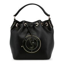 Versace Jeans Black Drawstring Bucket Bag