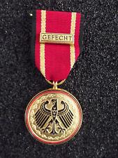 (A14-305) Bundeswehr BW Einsatzmedaille GEFECHT