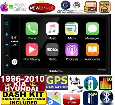 FITS HYUNDAI & KIA GPS NAV BLUETOOTH USB APPLE CARPLAY ANDROID AUTO CAR RADIO