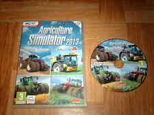 AGRICULTURE SIMULATOR 2013...jeu complet...sur PC