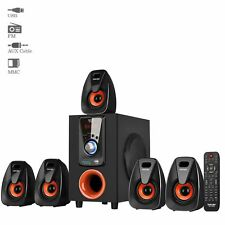 Truvison SE-5035 5.1 Multimedia Speaker System USB FM AUX MMC Refurbished