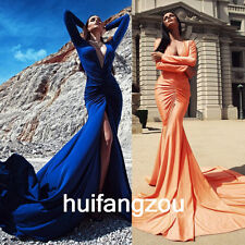 Blue/Orange Wedding Dresses Bridal Gowns Formal Mermaid Size 4 6 8 12 16 18 Plus