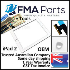 iPad 2 OEM White Touch Screen Glass Digitizer Front Replacement 2nd Gen 3G Tools