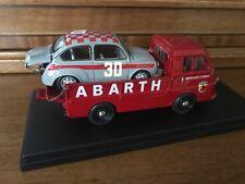 Exoto / Only 1 Hand Built / Abarth Servizio Corse + 1000 TC / 1:43 / EHB No. 01