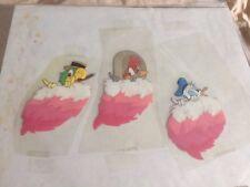 Donald Duck Three Caballeros ALL 3 of them! Same scene