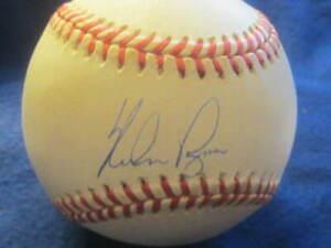 Nolan Ryan Rangers Mets Astros Baseball HOFer Autographed MLB Ball PSA COA