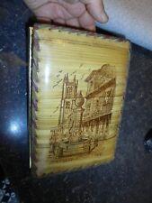 Ancienne Boite à Chocolat Idéale Courrier / Cartes Postale Montereau ill HohiaC
