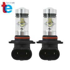 2X 9005 HB3 H10 6000K 100W LED HID White 2323 Fog Driving DRL Light Bulbs New
